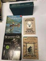 Lot of 5 Vintage Deer Hunting fishing Books