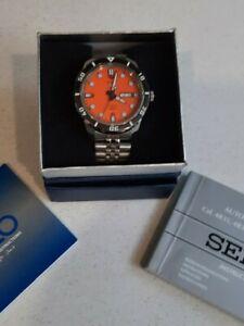 Seiko 5 Diver Auto 4R36 SRP675 100M Men's Watch, New Jubilee Bracelet - Ex Cond