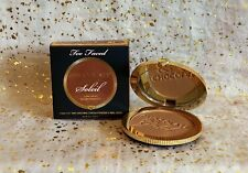 Too Faced CHOCOLATE GOLD Soleil Long Wear Gilded Bronzer~LUMINOUS~Full Size~NIB