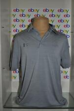 Under Armour Auburn Tigers Gray Collegiate Performance Polo Mens Large Gray NWT