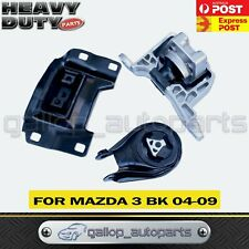 Front Left Right Engine Mount & Rear Gearbox Transmission for Mazda 3 BK 04-09