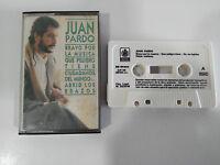 JUAN PARDO BRAVO POR LA MUSICA EXITOS CINTA CASSETTE SPANISH ED HISPAVOX 1988
