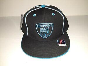 Carolina Panthers Fitted Men's NFL Hat Size 7 7/8 Black & Blue