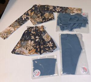 Smart Doll Outfits  BJD. By Etsy Designer EDW. Blue Set