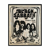 BLACK SABBATH Band Woven Sew On Patch Official Licensed Band Merch