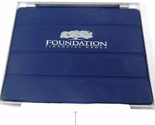 iPad Smart Cover Navy Blue Black w/ Foundation Financial Group Logo