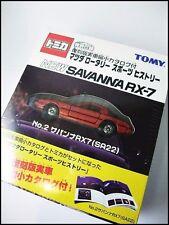 Vintage Tomica Mazda Savanna RX-7 (SA22) Special Edition with book
