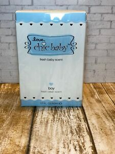 Love Chic Baby Fresh Baby Scent 1.7oz Boy Fresh Clean Scent SEALED (AB1)