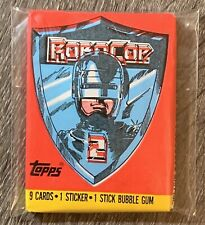 1990 Topps: ROBOCOP 2 Movie Cards - Unopened Vintage Wax Pack - VER 2 Free Ship!
