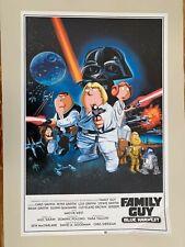 FAMILY GUY,BLUE HARVEST,STAR WARS,RARE LICENSED 2007 POSTER
