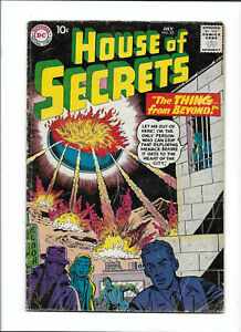 """HOUSE OF SECRETS #22 [1959 GD-VG] """"THE THING FROM BEYOND!"""""""