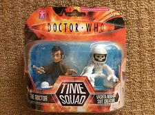 Limited Edition Doctor Who Tenth Doctor & Vashta Nerada Time Squad Figures