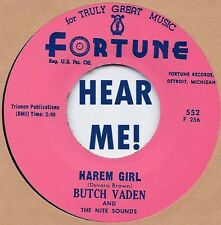 R&B REPRO: BUTCH VADEN - Harlem Girl/The Roll  FORTUNE