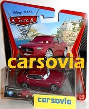 CARLO MASERATI - Cars 2 Disney Pixar autos Mattel diecast metal model vehicle