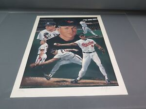"""Cal Ripken, Jr. Signed & Numbered 18"""" x 24"""" Print by Angelo Marino #634/900"""
