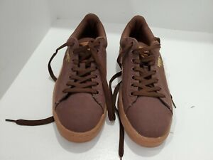 Puma Mens Brown Lace Up Shoes Size 10.5. Never Worn