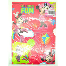 Disney Minnie Mouse Bow-Tique Gift Wrapping Paper Set 10 Sheets & 10 Gift Tags