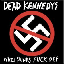 Dead Kennedys Nazi Punks F*ck Off Magnet M001MAG Black Flag Napalm Death