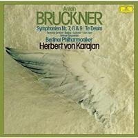 HERBERT VON KARAJAN-BRUCKNER: SYMPHONIES NOS.7-9 TE DEUM-JAPAN 3 SHM-SACD LTD