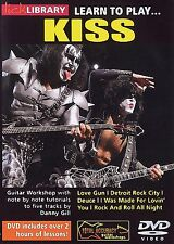 Lick Library LEARN TO PLAY KISS Glam Guitar Video DVD Lessons With Danny Gill