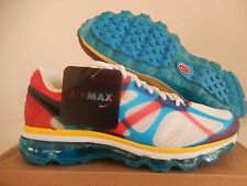 "NIKE AIR MAX + 2012 NRG ""WHAT THE MAX PACK"" WHITE-BLACK-SOAR SZ 7.5 [532307-100]"