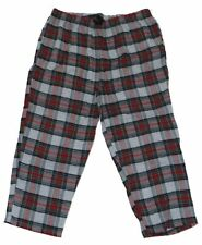NEW BIG & TALL HARBOR BAY MEN'S RED CHECKERED FLANNEL LOUNGE PANTS PJS PAJAMAS