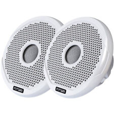 "Fusion MS-FR4021 Round 4"" Two Way 120 Watt Waterproof Speaker"