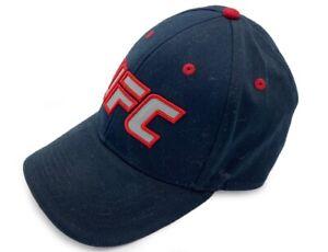 Reebok UFC Ireland Black Super flex Flex Fit Hat - Small/Medium