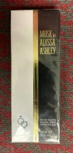 Musk By Alyssa Ashley Natural Spray 3.4 Oz (100 mL)