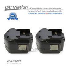 2x 12V 2.0AH Battery for MILWAUKEE 48-11-1950 48-11-1960 48-11-1967 48-11-1900
