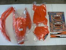 KTM 125 SX 125SX SX125 2004 OEM Plastic & Sticker Kit Plastics Stickers AR0-503