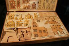 Jeu de construction en bois début 20e E.C. Paris
