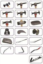 Sykes Pickavant 19 Piece Master Panel Beaters Body Repair Tool Kit 05840100