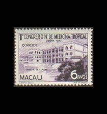 Macao, Sc #364, MNH, 1952, Sao Raphael Hospital, Medical Congress, 8EHI
