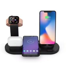 3 in 1 Charging Dock Phone Charger Stand For Apple Watch Series/iPhone Station