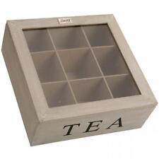 Wooden Square Decorative Boxes, Jars & Tins