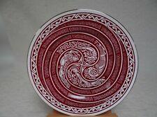 Nexus Design Collector's Bone China Plate, Spiral