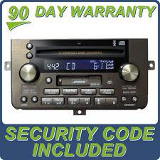 Acura Bose Radio SAT XM 6 Disc CD Changer Cassette 3TL0 OEM 39101-SZ3-A713-M1