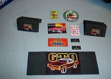 1/18 -Pontaic GTO Accessory Garage Set-10 piece's - for your shop/garage/diorama