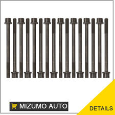 Fit Isuzu Honda Isuzu V6 3.2L 3.5L 6VE1 Cylinder Head Bolts