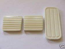 VW MK1 GOLF BRAKE CLUTCH AND GAS PEDAL RUBBERS  WHITE GTI