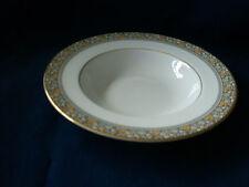 "Royal Doulton Maplewood 8"" FLAT Rim Soup Bowl (secondi & lievi dorati Wear)"