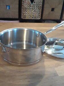3 qt sauce pan Copper Core All Clad