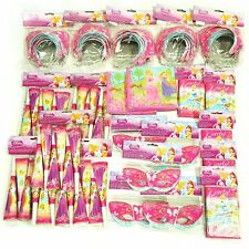 Disney Princess Party Pack for 30 People - Masks Napkins Tiaras Horns & Invites