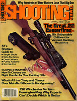 SHOOTING TIMES Magazine April 1978 The Great .22 Centerfires