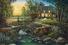 STONYBROOK COTTAGE by Jim Hansel CANVAS
