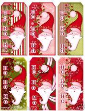 CHRISTMAS (27-C) SCRAPBOOK CARD EMBELLISHMENTS HANG/GIFT TAGS