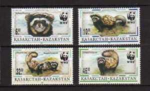 15673) Kazakhstan 1997 MNH New Wwf - Animals