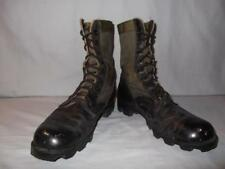Military Boots 7 Reg Green Jungle Hot Weather US Army Hunt Work Men Boys #26