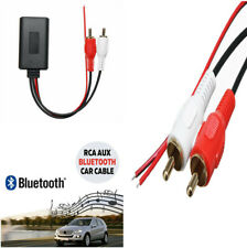 Bluetooth 2RCA AUX Cable Adapter for Phone/Pad/MP3 AUX for Car w/2RCA Interface